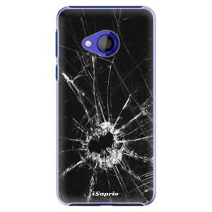 Plastové pouzdro iSaprio Broken Glass 10 na mobil HTC U Play