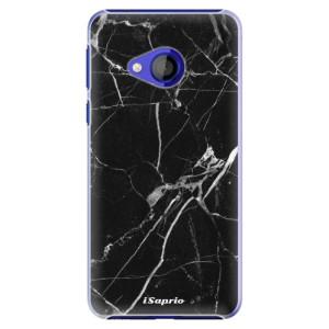 Plastové pouzdro iSaprio Black Marble 18 na mobil HTC U Play