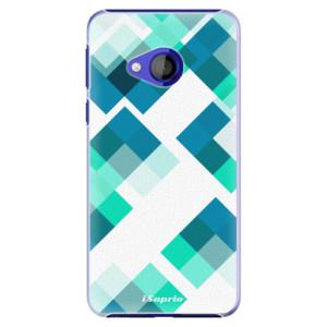 Plastové pouzdro iSaprio Abstract Squares 11 na mobil HTC U Play