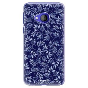 Plastové pouzdro iSaprio Blue Leaves 05 na mobil HTC U Play