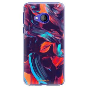 Plastové pouzdro iSaprio Barevný mramor 19 na mobil HTC U Play