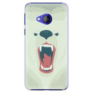Plastové pouzdro iSaprio Naštvanej Medvěd na mobil HTC U Play