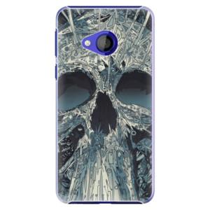 Plastové pouzdro iSaprio Abstract Skull na mobil HTC U Play