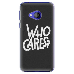 Plastové pouzdro iSaprio Who Cares na mobil HTC U Play