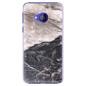 Plastové pouzdro iSaprio BW Mramor na mobil HTC U Play