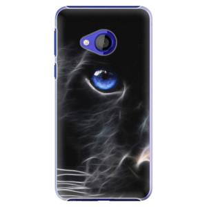 Plastové pouzdro iSaprio Black Puma na mobil HTC U Play