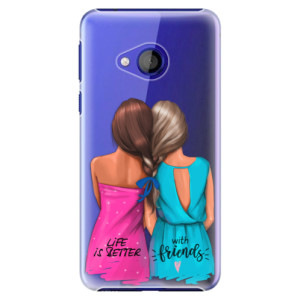 Plastové pouzdro iSaprio Best Friends na mobil HTC U Play