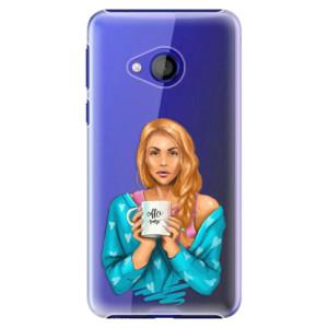 Plastové pouzdro iSaprio Coffee Now Zrzka na mobil HTC U Play