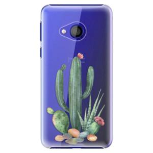 Plastové pouzdro iSaprio Kaktusy 02 na mobil HTC U Play