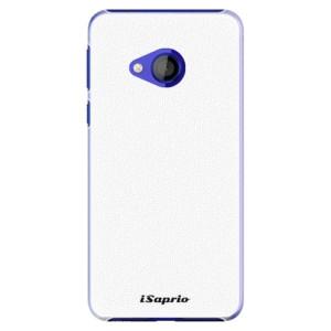 Plastové pouzdro iSaprio 4Pure bílé na mobil HTC U Play