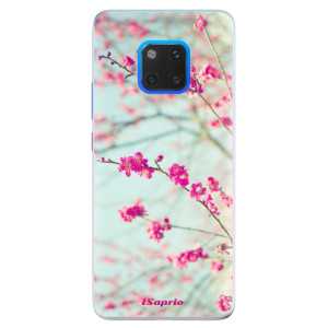 Silikonové pouzdro iSaprio (mléčně zakalené) Blossom 01 na mobil Huawei Mate 20 Pro