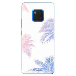 Silikonové pouzdro iSaprio (mléčně zakalené) Palmy 10 na mobil Huawei Mate 20 Pro