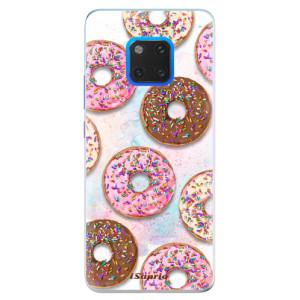 Silikonové pouzdro iSaprio (mléčně zakalené) Donutky Všude 11 na mobil Huawei Mate 20 Pro