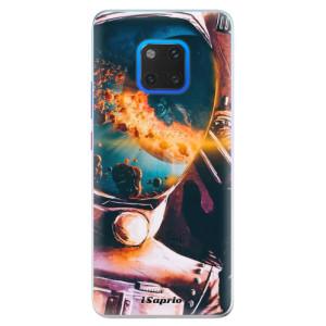 Silikonové pouzdro iSaprio (mléčně zakalené) Astronaut 01 na mobil Huawei Mate 20 Pro