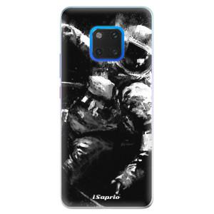 Silikonové pouzdro iSaprio (mléčně zakalené) Astronaut 02 na mobil Huawei Mate 20 Pro