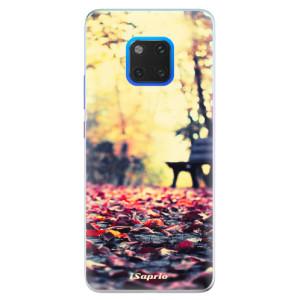Silikonové pouzdro iSaprio (mléčně zakalené) Bench 01 na mobil Huawei Mate 20 Pro
