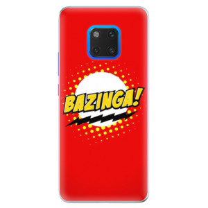 Silikonové pouzdro iSaprio (mléčně zakalené) Bazinga 01 na mobil Huawei Mate 20 Pro