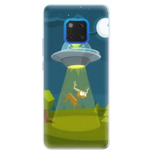 Silikonové pouzdro iSaprio (mléčně zakalené) Ufouni 01 na mobil Huawei Mate 20 Pro