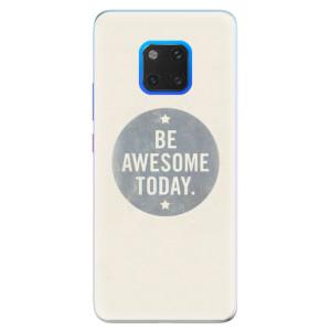 Silikonové pouzdro iSaprio (mléčně zakalené) Awesome 02 na mobil Huawei Mate 20 Pro