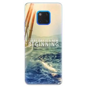 Silikonové pouzdro iSaprio (mléčně zakalené) Beginning na mobil Huawei Mate 20 Pro