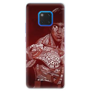 Silikonové pouzdro iSaprio (mléčně zakalené) Bruce Lee na mobil Huawei Mate 20 Pro