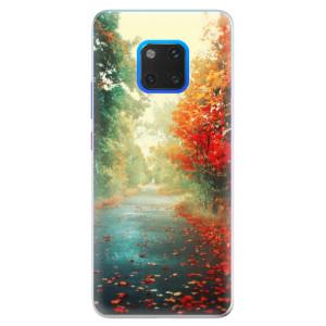 Silikonové pouzdro iSaprio (mléčně zakalené) Podzim 03 na mobil Huawei Mate 20 Pro
