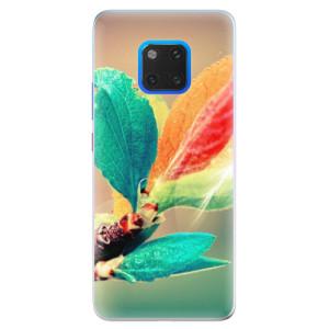Silikonové pouzdro iSaprio (mléčně zakalené) Podzim 02 na mobil Huawei Mate 20 Pro