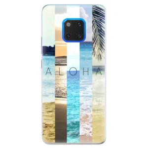 Silikonové pouzdro iSaprio (mléčně zakalené) Aloha 02 na mobil Huawei Mate 20 Pro