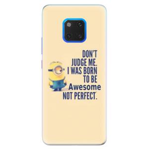 Silikonové pouzdro iSaprio (mléčně zakalené) Be Awesome na mobil Huawei Mate 20 Pro