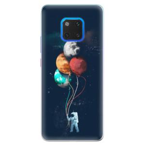 Silikonové pouzdro iSaprio (mléčně zakalené) Balónky 02 na mobil Huawei Mate 20 Pro
