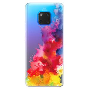 Silikonové pouzdro iSaprio (mléčně zakalené) Color Splash 01 na mobil Huawei Mate 20 Pro