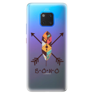Silikonové pouzdro iSaprio (mléčně zakalené) BOHO na mobil Huawei Mate 20 Pro