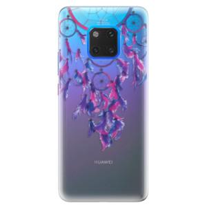 Silikonové pouzdro iSaprio (mléčně zakalené) Lapač snů 01 na mobil Huawei Mate 20 Pro