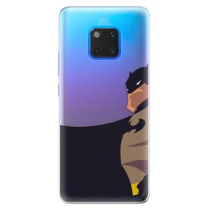 Silikonové pouzdro iSaprio (mléčně zakalené) BaT Komiks na mobil Huawei Mate 20 Pro
