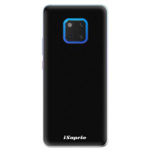 Silikonové pouzdro iSaprio 4Pure černé na mobil Huawei Mate 20 Pro