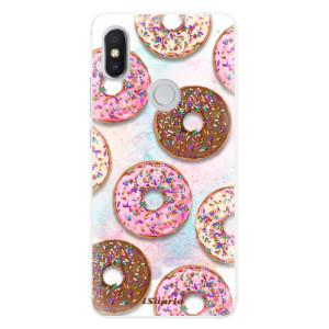 Silikonové pouzdro iSaprio (mléčně zakalené) Donutky Všude 11 na mobil Xiaomi Redmi S2
