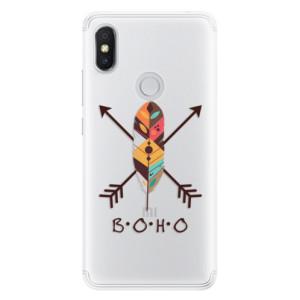Silikonové pouzdro iSaprio (mléčně zakalené) BOHO na mobil Xiaomi Redmi S2