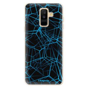 Silikonové pouzdro iSaprio (mléčně zakalené) Abstract Outlines 12 na mobil Samsung Galaxy A6 Plus