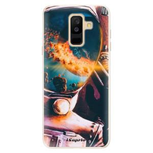 Silikonové pouzdro iSaprio (mléčně zakalené) Astronaut 01 na mobil Samsung Galaxy A6 Plus