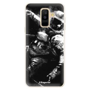 Silikonové pouzdro iSaprio (mléčně zakalené) Astronaut 02 na mobil Samsung Galaxy A6 Plus