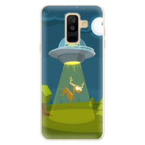 Silikonové pouzdro iSaprio (mléčně zakalené) Ufouni 01 na mobil Samsung Galaxy A6 Plus