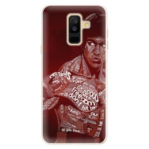 Silikonové pouzdro iSaprio (mléčně zakalené) Bruce Lee na mobil Samsung Galaxy A6 Plus