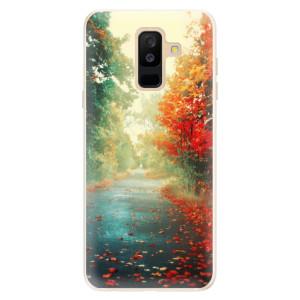 Silikonové pouzdro iSaprio (mléčně zakalené) Podzim 03 na mobil Samsung Galaxy A6 Plus