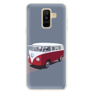 Silikonové pouzdro iSaprio (mléčně zakalené) VW Bus na mobil Samsung Galaxy A6 Plus
