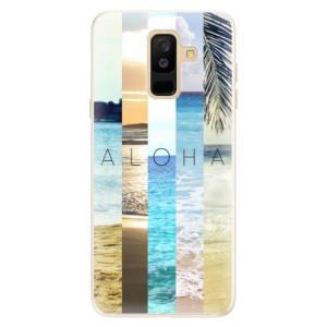 Silikonové pouzdro iSaprio (mléčně zakalené) Aloha 02 na mobil Samsung Galaxy A6 Plus