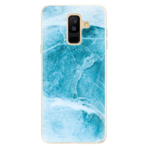 Silikonové pouzdro iSaprio (mléčně zakalené) Blue Marble na mobil Samsung Galaxy A6 Plus