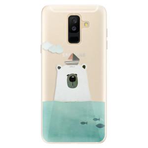Silikonové pouzdro iSaprio (mléčně zakalené) Medvěd s Lodí na mobil Samsung Galaxy A6 Plus