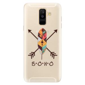 Silikonové pouzdro iSaprio (mléčně zakalené) BOHO na mobil Samsung Galaxy A6 Plus