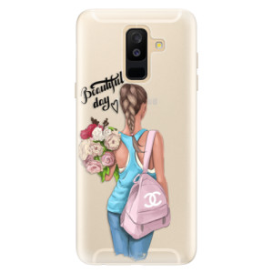 Silikonové pouzdro iSaprio (mléčně zakalené) Beautiful Day na mobil Samsung Galaxy A6 Plus