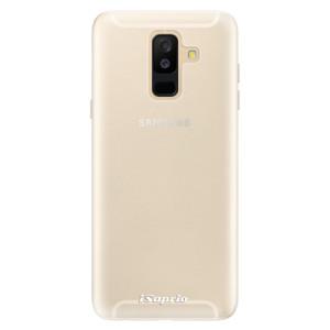 Silikonové pouzdro iSaprio 4Pure mléčné bez potisku na mobil Samsung Galaxy A6 Plus